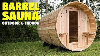 Barrel Sauna | Home Sauna Kit for Outdoors And Indoors