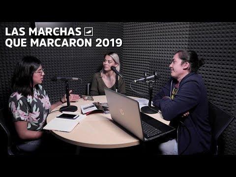 Taxistas, feministas y fífís: Las marchas que marcaron 2019 #PodcastChilango
