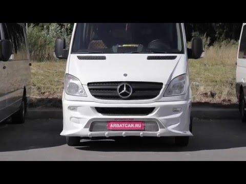 Аренда микроавтобуса без водителя Mercedes Sprinter мерседес спринтер полулюкс белыи