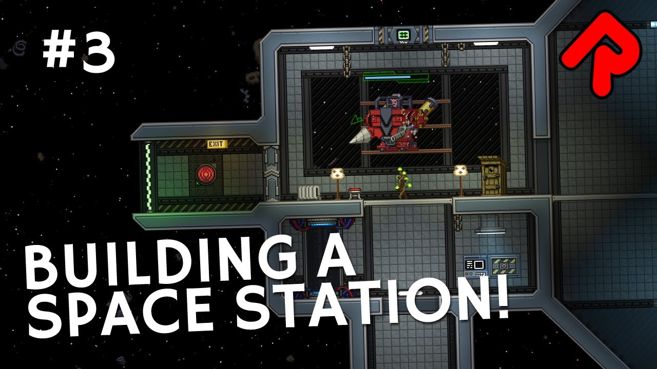 Building A Space Station & Trading Goods | Let's play Starbound 1 3 preview  [RC2]