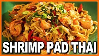 Shrimp Pad Thai at Bangkok Saigon Noodle