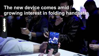 Samsung joins the fold with Galaxy Z Flip smartphone