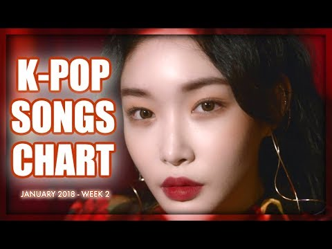 K-POP SONGS CHART  JANUARY 2019 WEEK 2