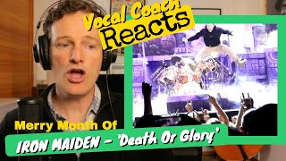 Vocal Coach REACTS - IRON MAIDEN 'Death Or Glory'