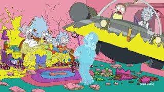 Симпсоны #1 Смешные моменты HD (Рик и Морти)