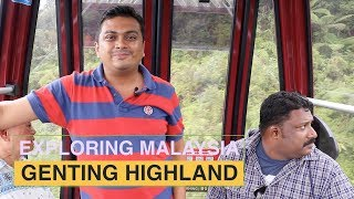 Genting Highlands Kuala Lumpur Cable Car, Casino, Hotel, Tour - Malaysia Part 10