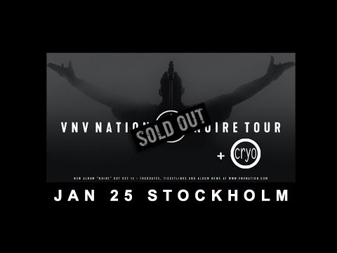 VNV Nation live Stockholm 25 January 2019 - full show Mp3