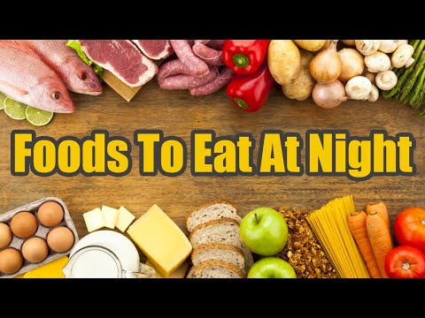 what to eat at night on a diet