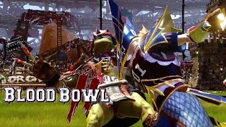 Blood Bowl 2 - Orcs vs High Elves Gameplay Trailer