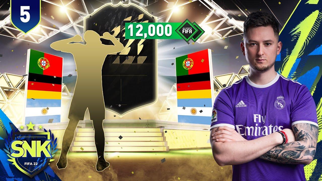 PIERWSZE DUŻE OTWIERANIE! [#5] | FIFA 22 ULTIMATE TEAM