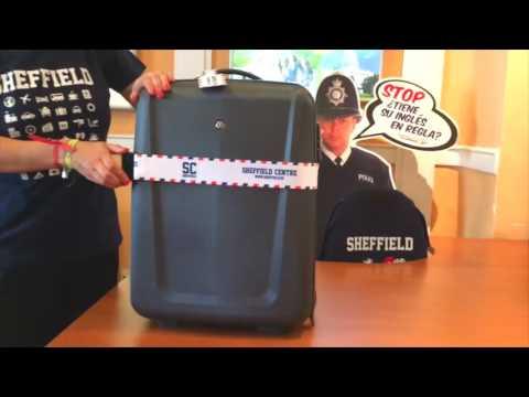 39ce6406c Cinta protectora para tu maleta - YouTube