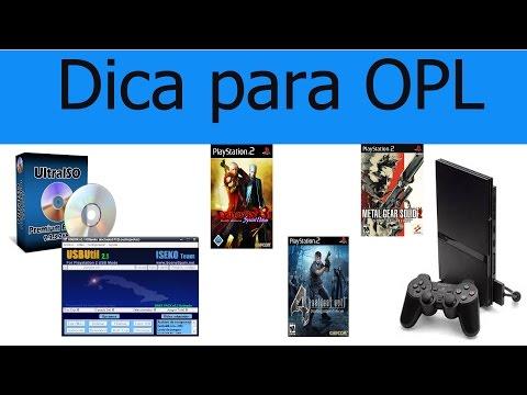 Jogos que dão tela branca no OPL