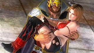 Dead or Alive 5 Story 09: Bass Chapter – Tina Armstrong Ryona, vs. Rig & Zack