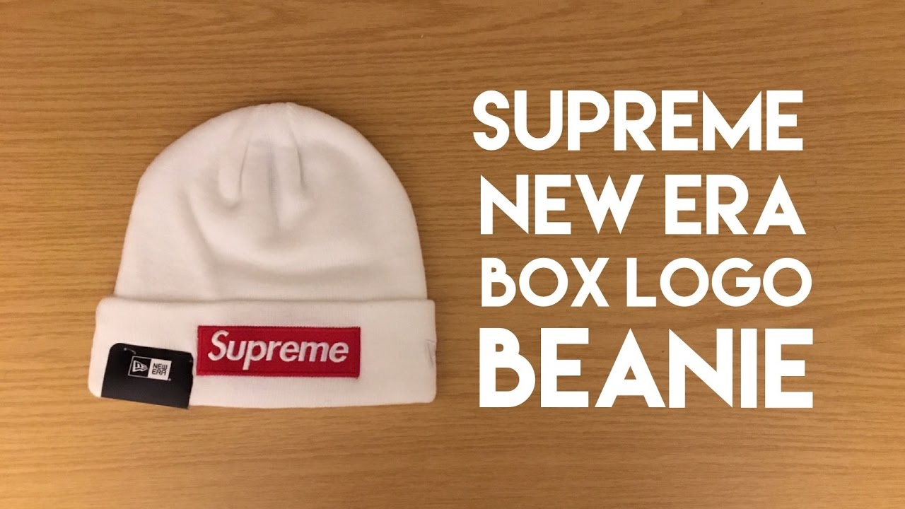 5b4e11efdf555 Supreme New Era Box Logo Beanie - Review - YouTube