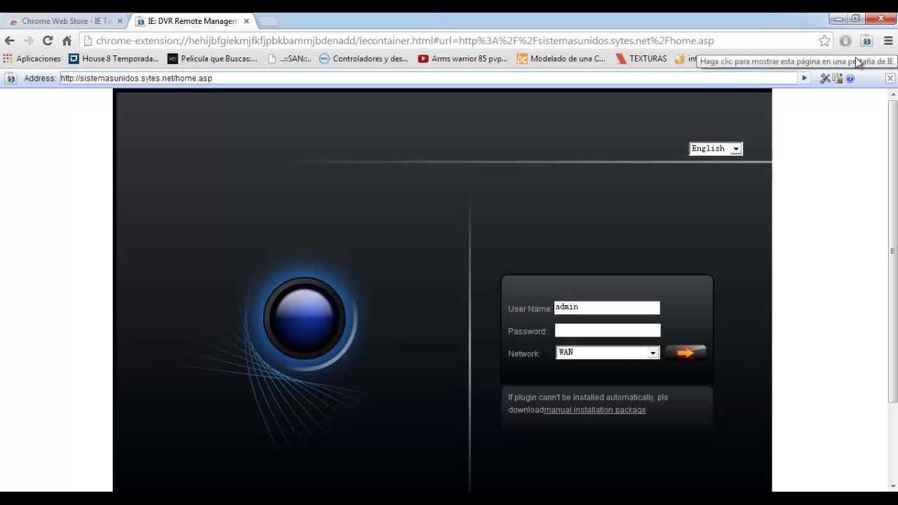 Instalar Active X en Google Chrome o Moxilla Firefox