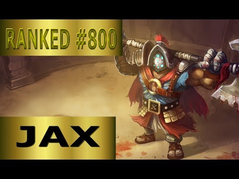 With Jax Jungle Back To Gold ?! Full League of Legends Gameplay [German] LP LoL - Ranked #800