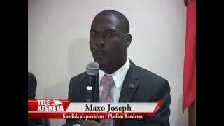 Présidentielles 2015: Le Pasteur Maxo Joseph s