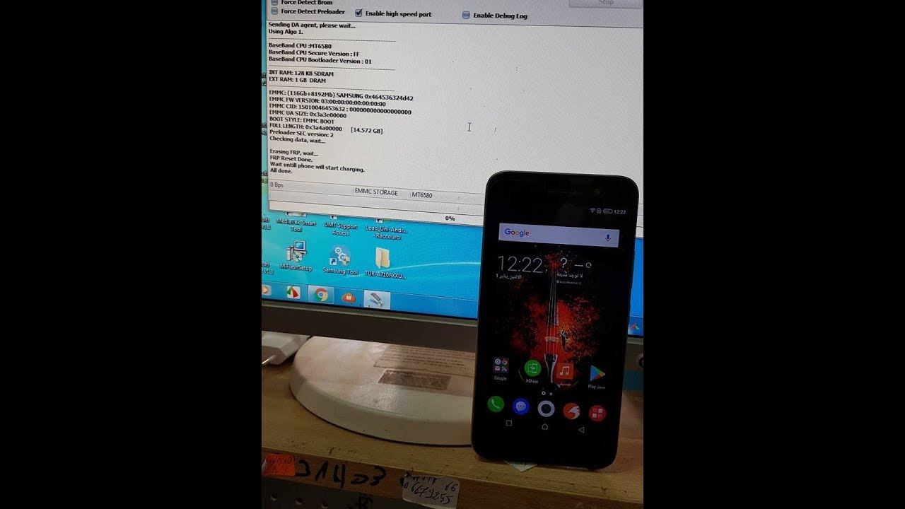 REMOVE FRP INFINIX X559 WITH NCK BOX