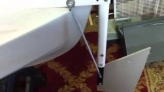 Homemade Kayak Rudder