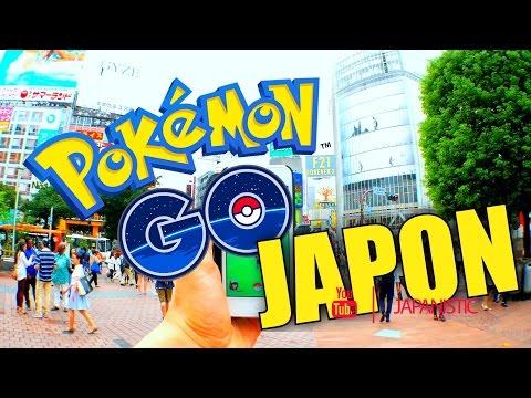 POKEMON GO en JAPON   TOKYO [By TODOJAPANESE]