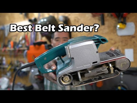 Makita Belt Sander Review - Model 9924DB