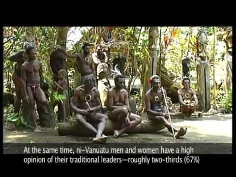 Well-Being in Vanuatu