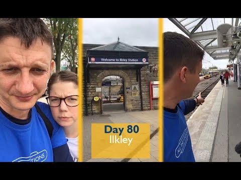 LIVE! From Ilkley station ... Periscope Stream 35 - Day 80