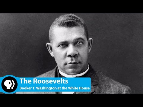 Booker T  Washington at the White House