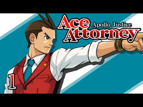 NEW BLOOD - Let's Play - Apollo Justice: Ace Attorney - 1 - Walkthrough Playthrough
