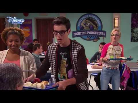 Liv and Maddie  Funny Joey Canteen Moment   Disney Channel UK HD
