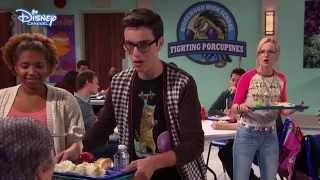Liv and Maddie - Funny Joey Canteen Moment - Official Disney Channel UK HD