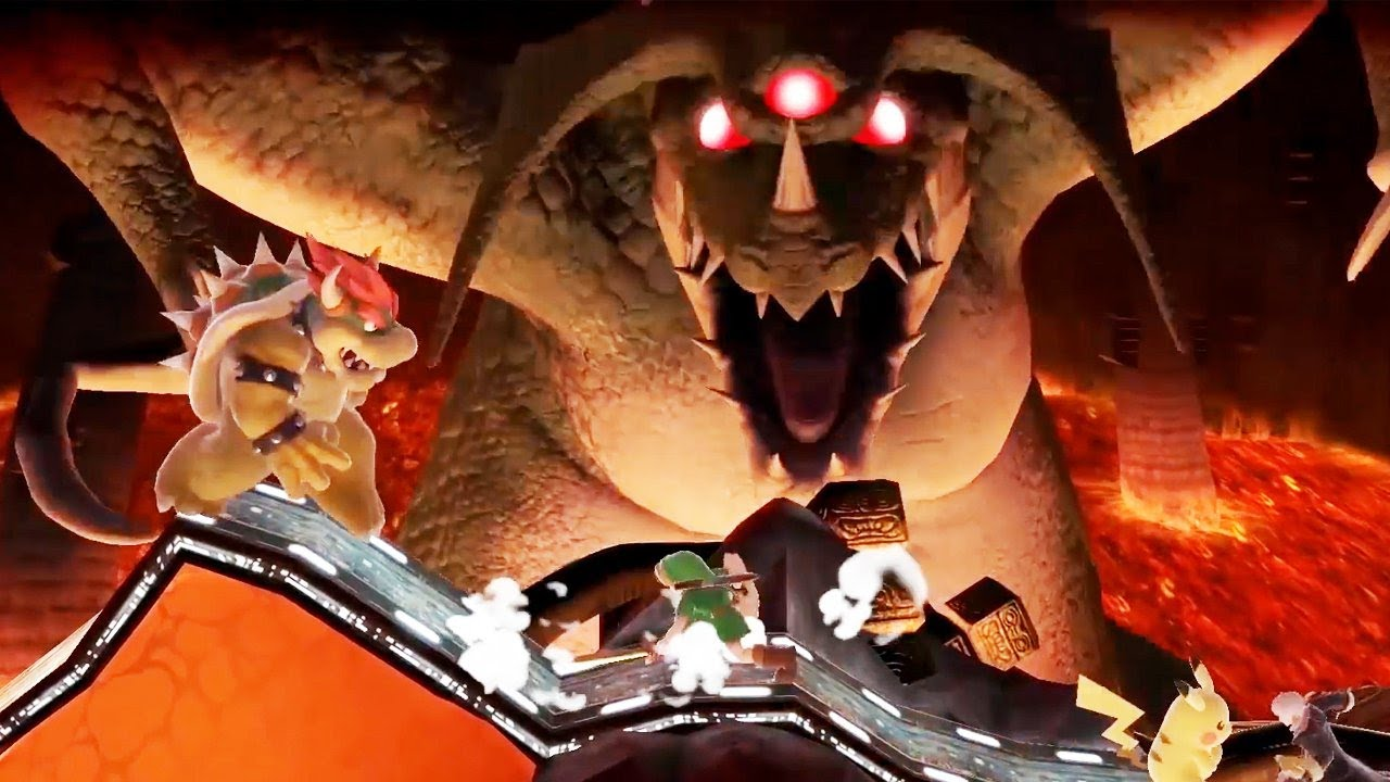 Super Smash Bros. Ultimate: New Stages Gameplay