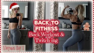 Back To Fitness | Vlogmas Day 1