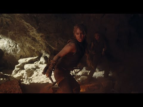 SURVIVOR Movie   Cave Fight 2014  Danielle Chuchran, Kevin Sorbo