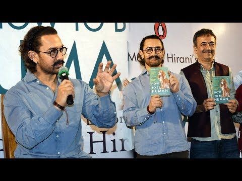 UNCUT  Aamir Khan At The Launch Of Manjeet Hirani's Book HOW TO BE HUMAN
