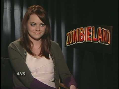 EMMA STONE ZOMBIELAND ANS INTERVIEW