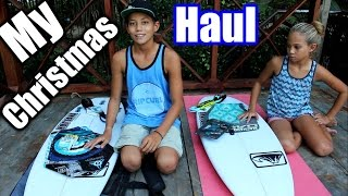 What I Got For Christmas 2015 - My Xmas Haul Surfer Survival Style