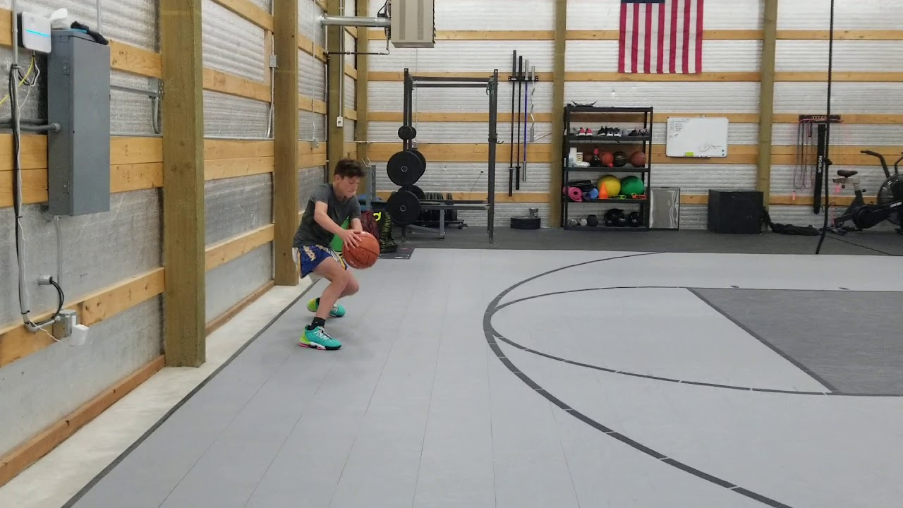 Indoor Basketball Court Kits Customer Review Youtube