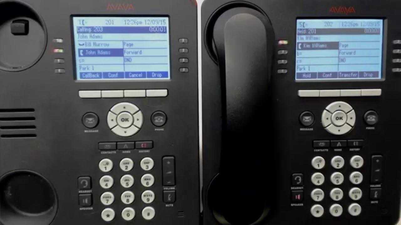 5 AVAYA IP Office: Conference Calls 9508