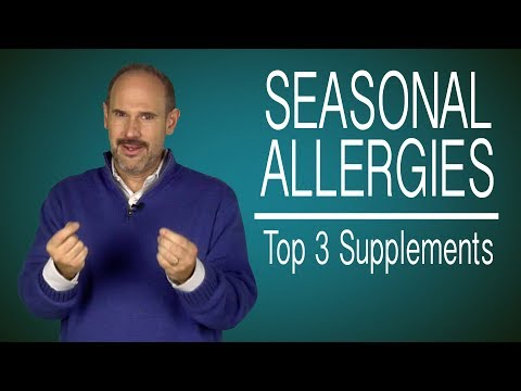 Seasonal Allergies? Kyle's Top 3 Go to Supplements for Allergy Relief
