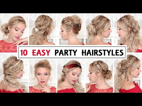 10 EASY PROM HAIRSTYLES FOR SHORT HAIR