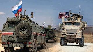 Американские военные легко и непринужденно прогнали российских солдат