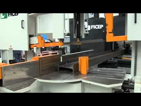 FICEP Vanguard CNC Beam Drilling & Cutting Line