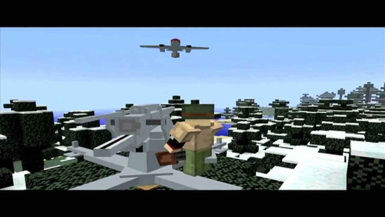 FLANS mod пак — World War II Pack [1.8] [1.7.10] [1.7.2 ...