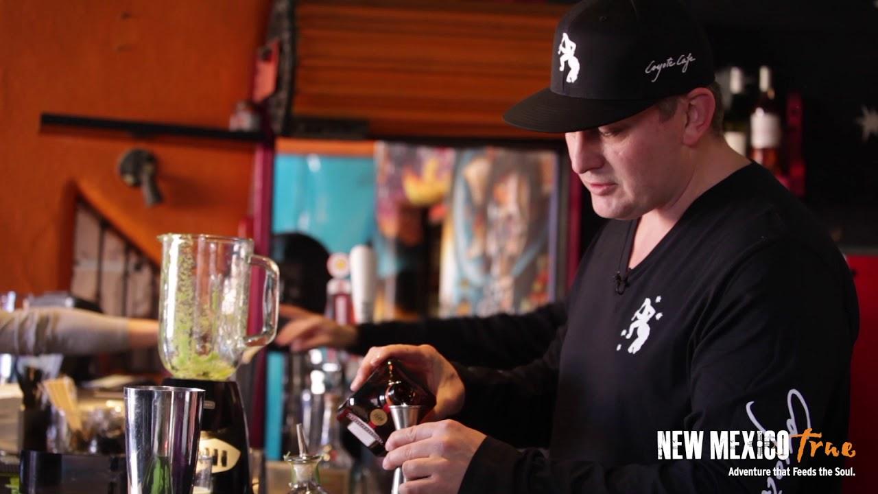 Making the Norteño Margarita-Santa Fe's Coyote Cafe