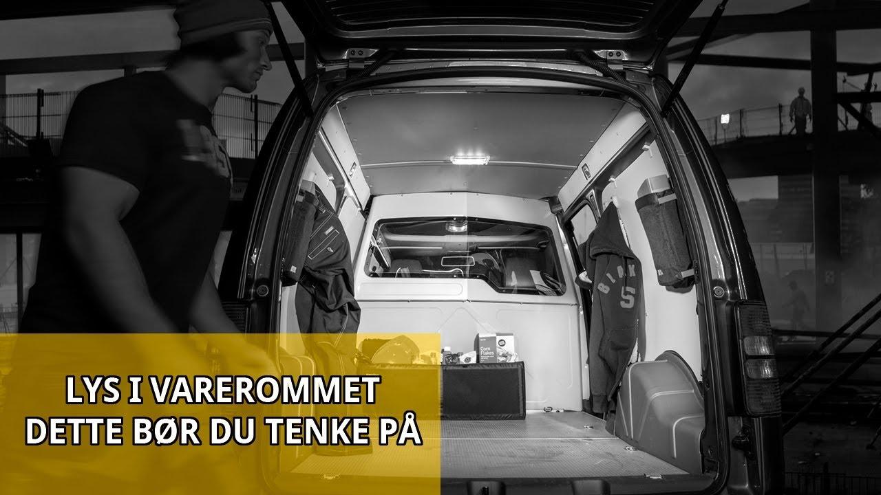 Har du riktig LED lys til varebilen?