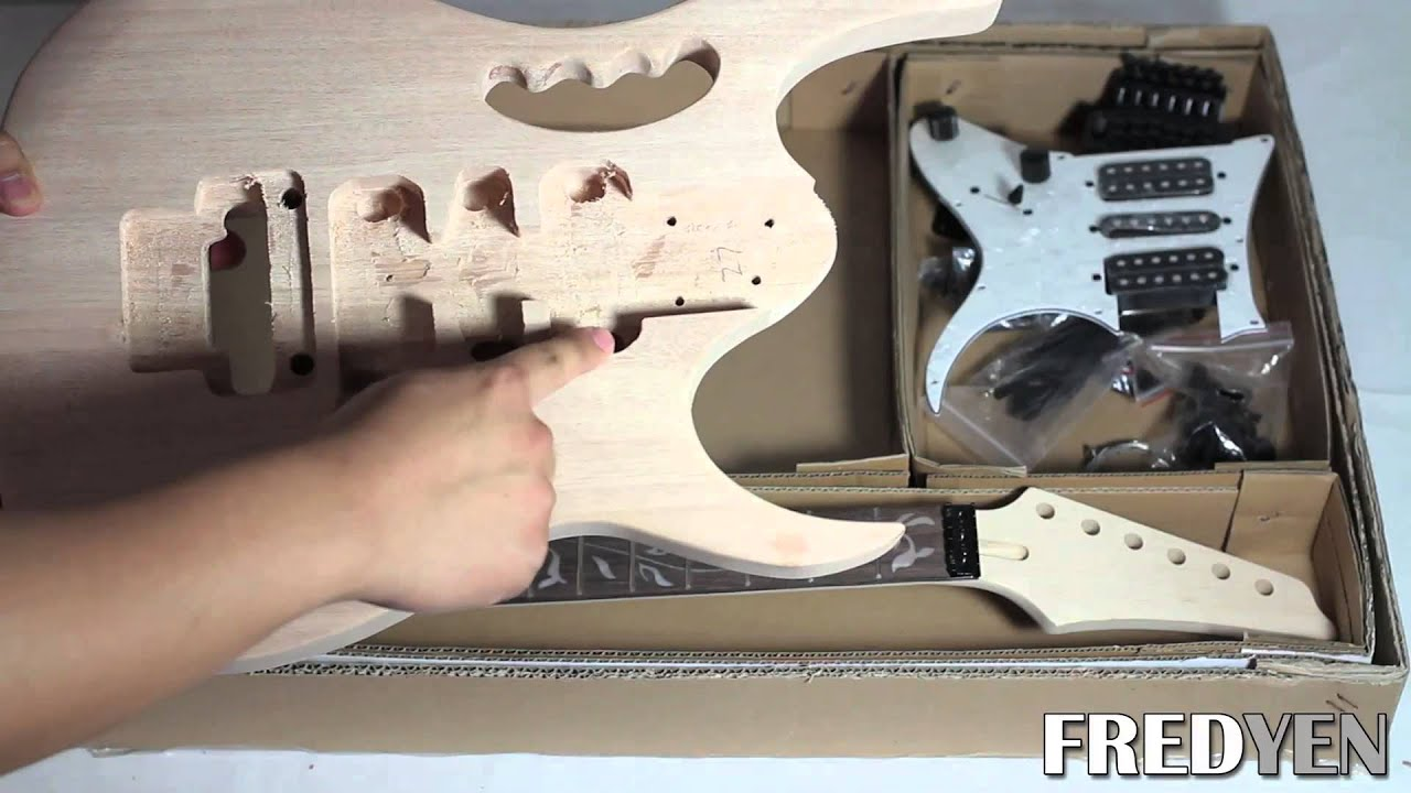 Diy jem style guitar kit part 1 overview youtube solutioingenieria Gallery