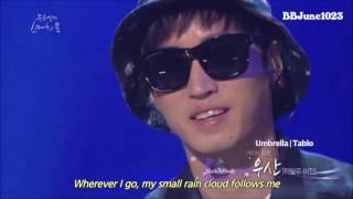Umbrella demo- Tablo version before EPIK HIGH ft Younha