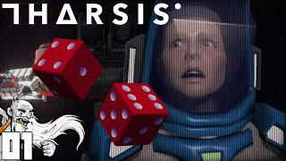 """""""SPACE DICE OF DEATH!!!"""" Tharsis Part 1 - 1080p HD PC Gameplay Walkthrough"""