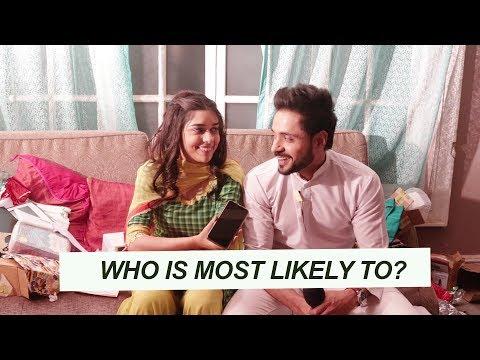 Adnan Khan & Eisha Singh   Who's most likely to   Ishq Subhan Allah